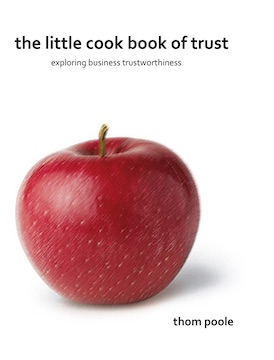 Cover of The little Cookbook of Trust
